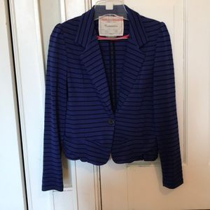 Anthropologie cropped blazer